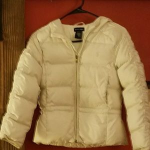 Ralph Lauren Girls Down Hooded Jacket